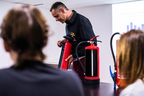 Brandschutzhelferschulung Trumpf Brandschutz